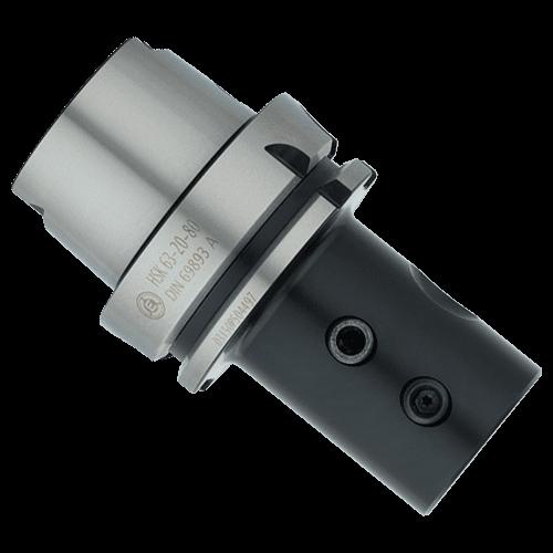 Bohrerhalter E1 für Wendeplattenbohrer HSK-A DIN 69896