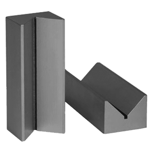 V-block pairs made of hardened special steel