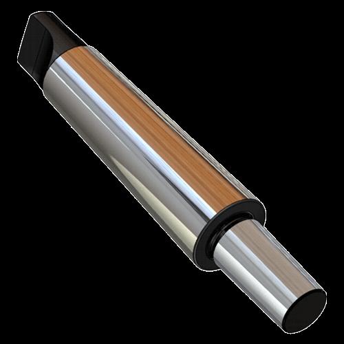Kegeldorn DIN 238 mit Einsteckschaft mit Austreiblappen