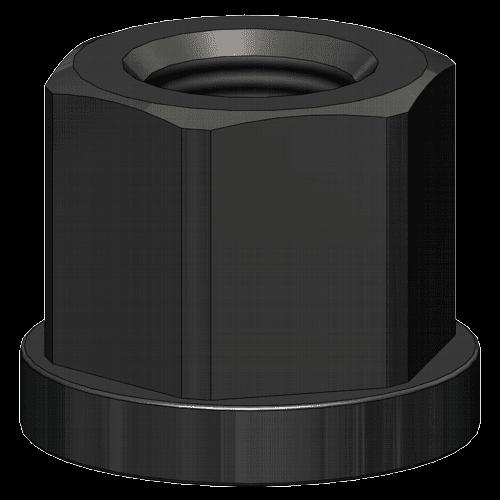 AMF collar nut DIN 6331, 1.5xD high