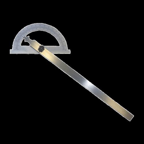 Gradmesser aus Stahl, mattverchromt