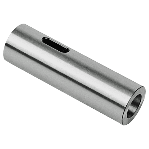 Cylindrical conical sleeve with Morse taper, without collar