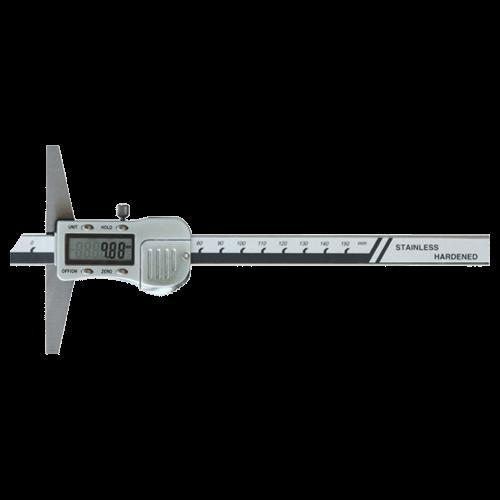 Digitaler Tiefenmessschieber mit Metallgehäuse, Din 862, Typ 6048