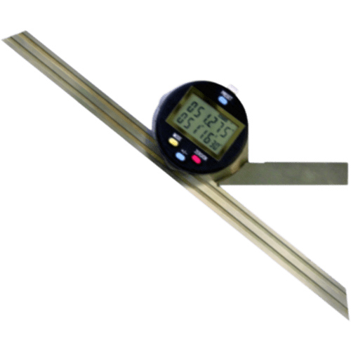 Digital angle measuring instruments, 0.001° ±5, in wooden box