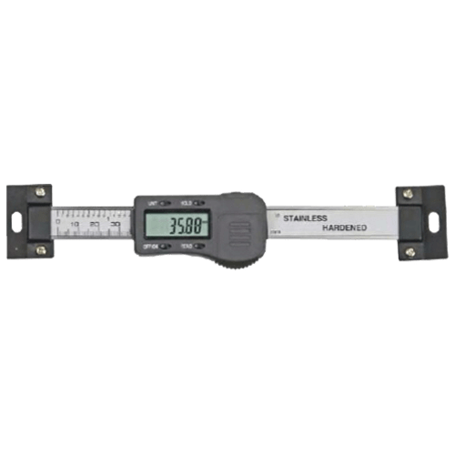 Horizontal digital panel-mounted caliper, type 609
