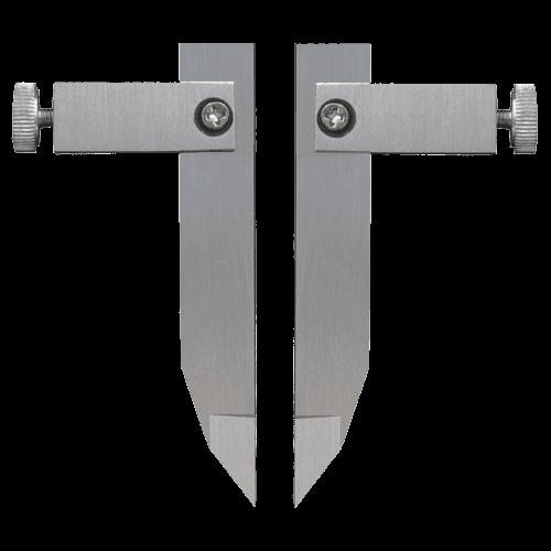 Messeinsätze für Universalmessschieber 6101/6100, Form 7, Typ 62
