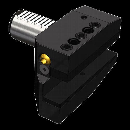 VDI tool holder DIN 69880 form B6, left, long