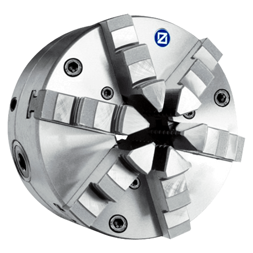 ZENTRA six-jaw chuck with radial fine adjustment