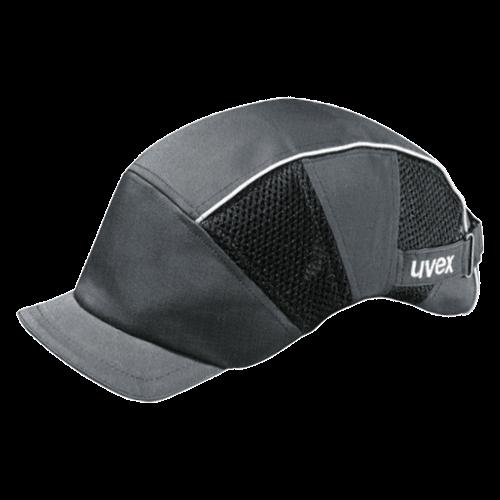 Arbeitsschutz Kappen, uvex Anstoßkappe 9794.301 mit kurzem Schirm