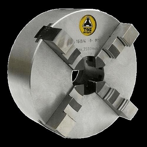 TOS Four-jaw lathe chuck IUG - cast iron