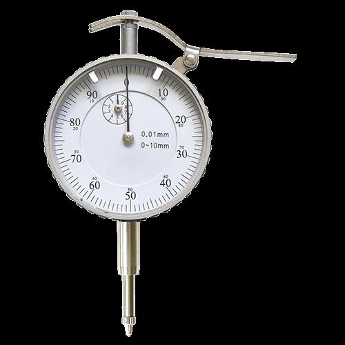 Dial indicator, range 10 mm, reading 0.01 mm, type 630/F