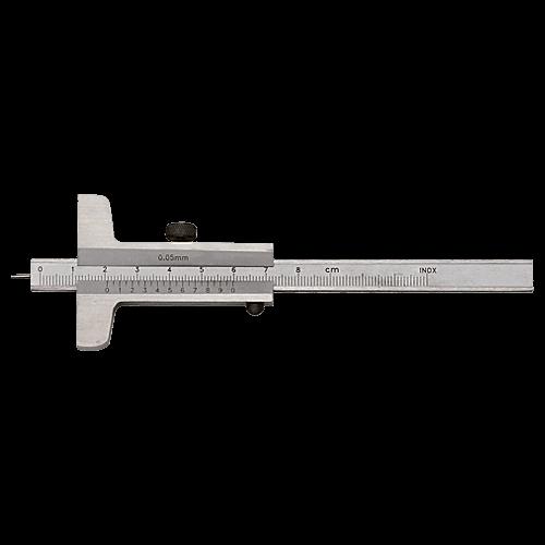 Tiefenmessschieber mit 1,6 mm Spitze, DIN 862, Typ C062