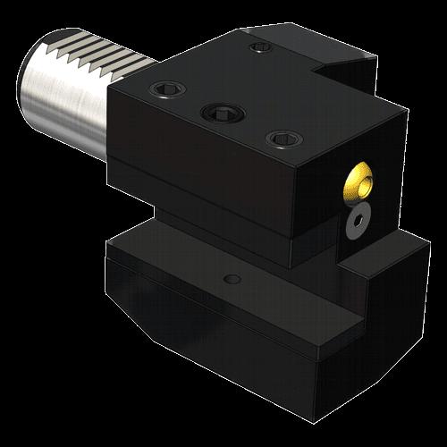 VDI tool holder DIN 69880 form C2, left