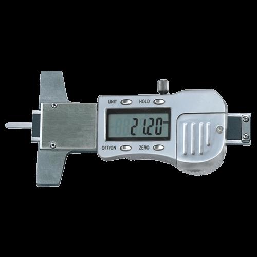 Klein-Tiefenmessschieber digital mit Flachspitze, Typ 6049/1