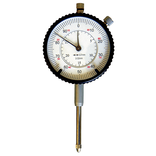 Dial indicator with large range 30 mm, reading 0.01 mm, type 636