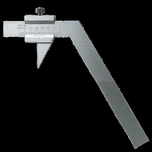 Spiralbohrer-Prüflehre für 118° Schneidenwinkel, Typ 12043