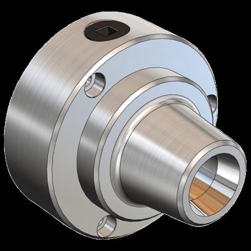 5C-Spannzangenfutter mit Feineinstellung, D125 mm
