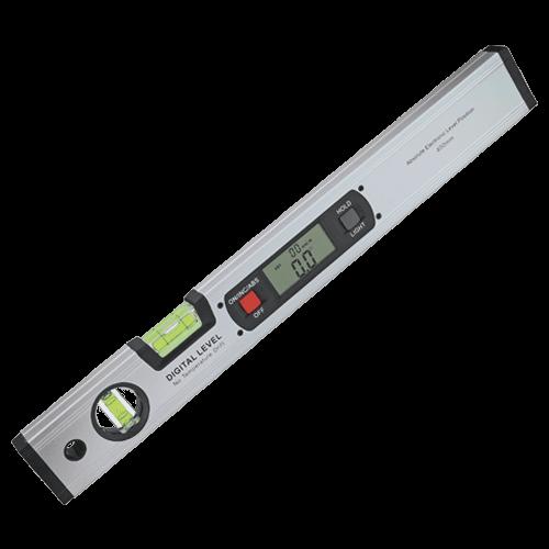 Digitale Leichtmetall-Wasserwaage, 2 Libellen, mit Beleuchtung, Typ 317