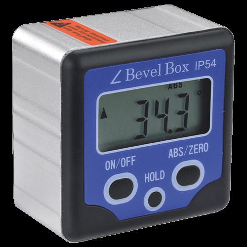 Digital Neigungsmessgerät IP54 mit Dauermagnet-Sockel, 570/7