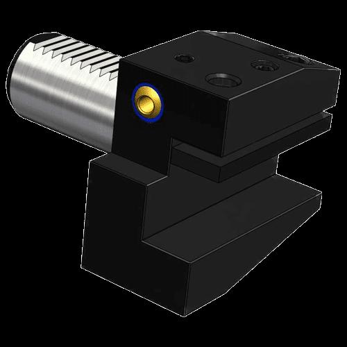 VDI tool holder DIN 69880 form B2, left, short