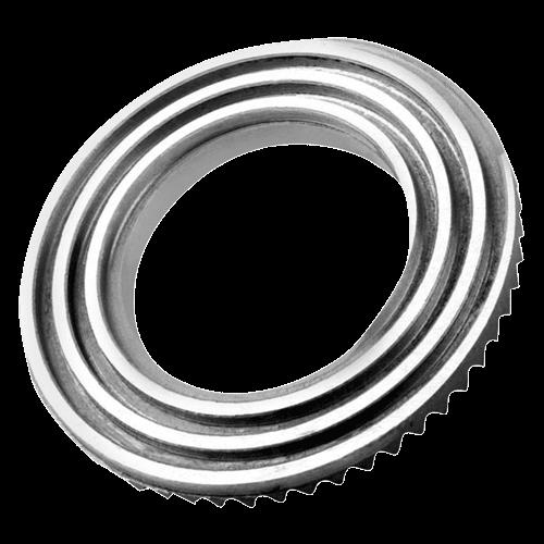 ZENTRA lathe chuck face spiral ring