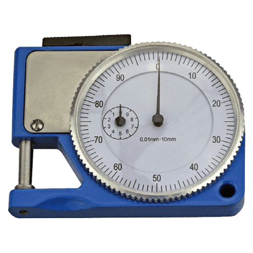 Dickenmessgerät analog Typ 563, Ausladung 0-10 mm, Messbereich 10 mm, Tellergröße 5,5 mm
