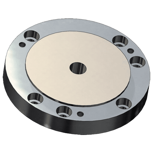 ZENTRA flange for rotary table