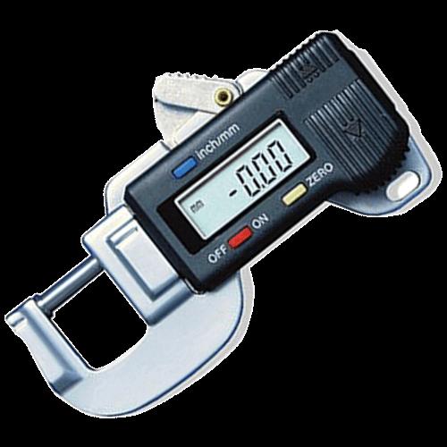 Digitale Dickenmessgerät 565/2, Messbereich 0 - 12 mm, Ausladung 19,7 mm