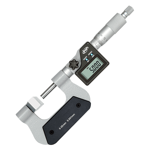 Digital outside micrometer with large anvil Type 684