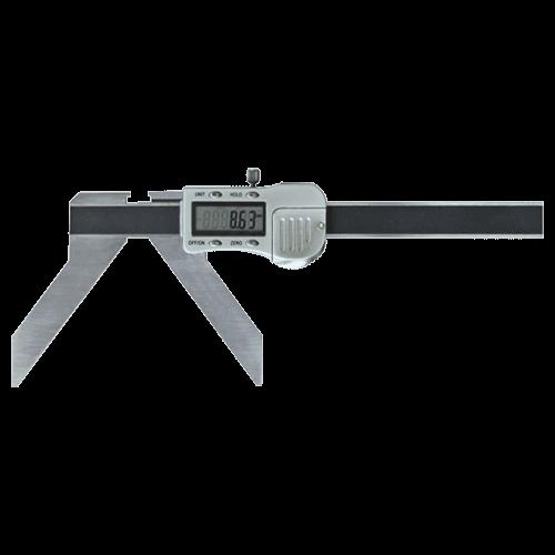 Digitaler Radius Messschieber zur Messung von Bogen und Radius, Typ 6706