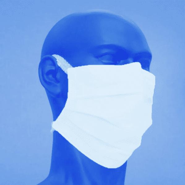 Medizinische Gesichtsmaske Typ IIR, 3-lagig