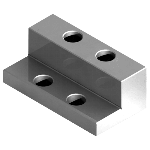 Vise jaws, movable step jaws for type MC2