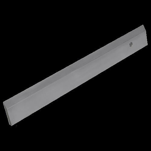 Werkstattlineal aus Spezialstahl, mit Facette, Typ 463/3