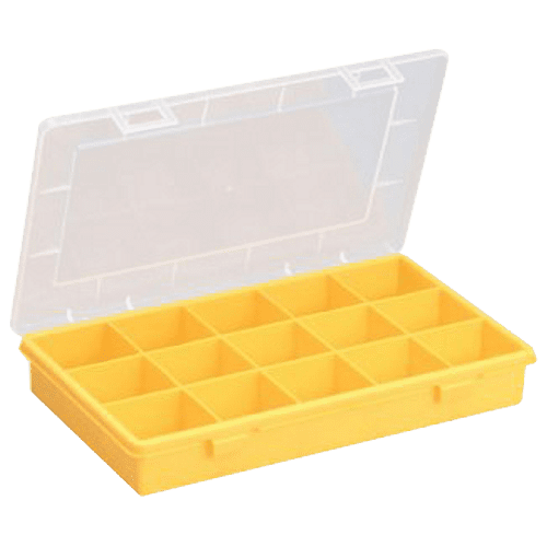 Open fronted storage bins, Allit assortment box, EuroPlus Basic 29 / 15