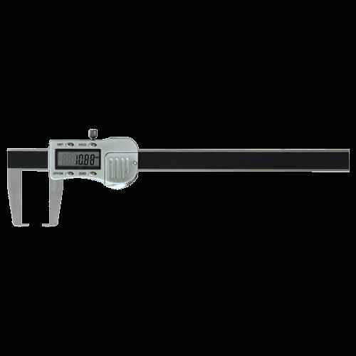 Digitaler Nuten-Messschieber, mit Flachspitzen für Außennuten, Typ 6715