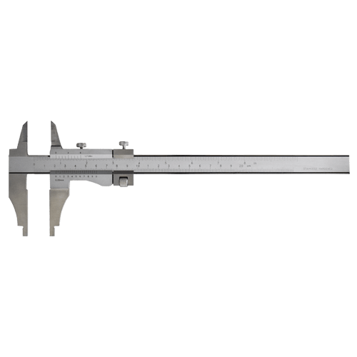 Werkstatt-Messschieber mit Spitzen und Feineinstellung, Typ AZC 41