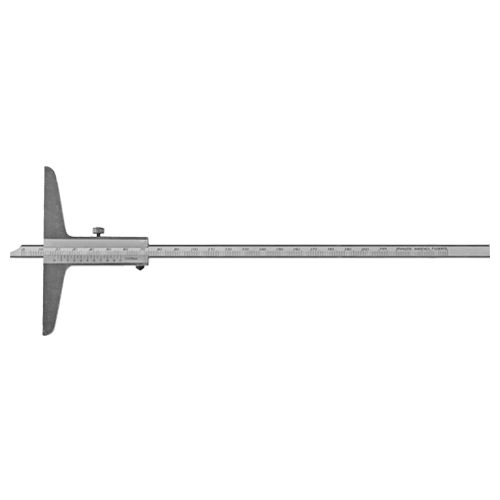 Tiefenmessschieber analog, DIN 862, Typ C058