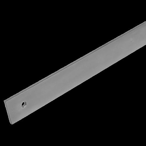 Werkstattlineal aus Stahl, ohne Facette, ohne Teilung, 430