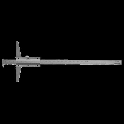Tiefenmessschieber mit Haken, analog, DIN 862, Typ C056
