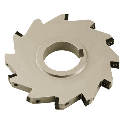 Indexable inserts disc milling cutter type CCMT
