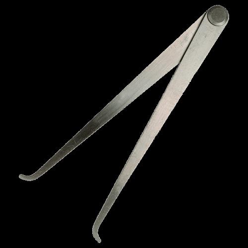 Innentaster mit Nietscharnier DIN 6482, Typ 3